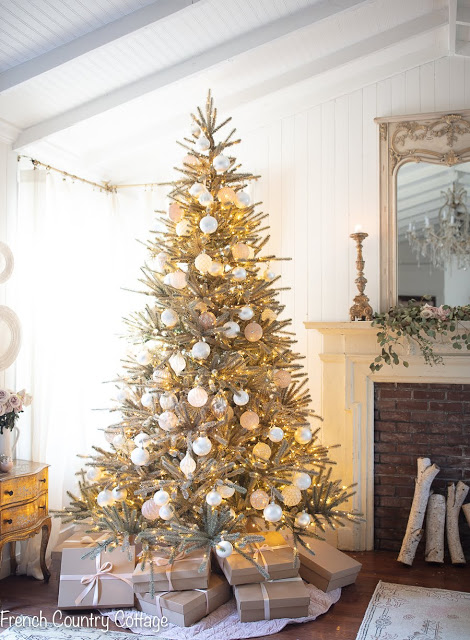 Christmas, Christmas tree, vintage holiday, gold tree ambiance,-5